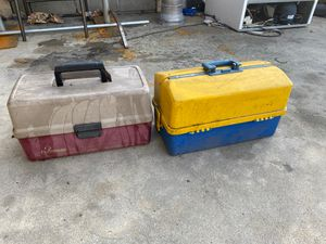 Fishing tackle boxes 📦 for Sale in Glendora, CA