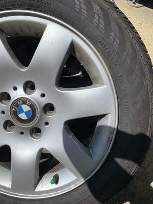 Brand New 2 (205/55R16) Wheels plus BMW Rims for Sale in Laurel, MD