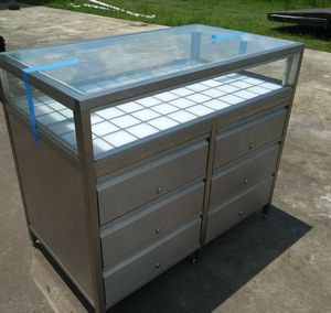 Stainless steel display case for Sale in Houston, TX