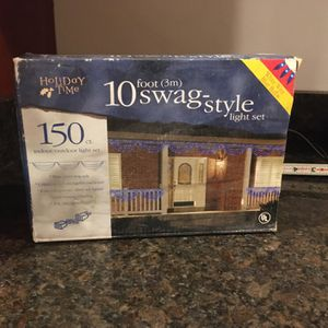 Swag-style Light Set-2 Boxes for Sale in Davidsonville, MD
