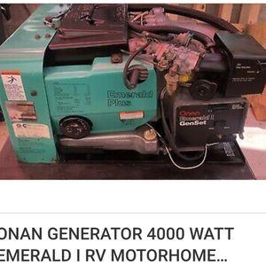 Onan 4000 generator in 1987 rv for Sale in Seattle, WA