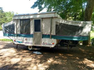Very nice Coleman pop up camper ready for camping for Sale in Durham, CT