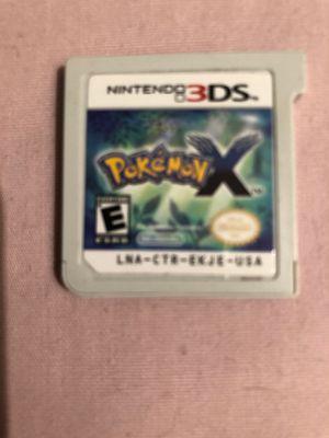 Nintendo 3 DS XL Pokémon X Game for Sale in Phoenix, AZ