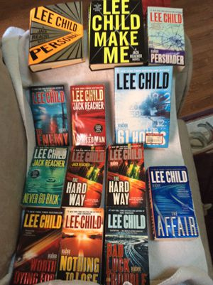 Lee child book lot for Sale in Downingtown, PA