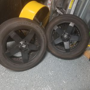 """Honda Element/Jeep 18"""" Wheels and Tires for Sale in Tampa, FL"""