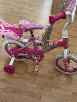 "12"" Huffy Disney Princess Bike With Doll Carrier for Sale in Wenatchee,  WA"