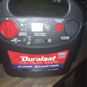 Duralast jump pack for Sale in North Andover, MA