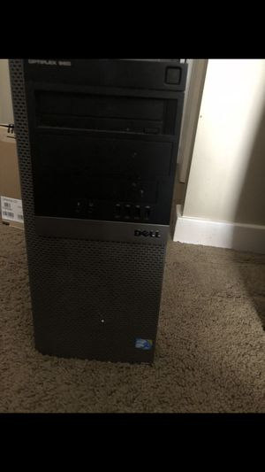 Dell optiplex 960 desktop computer with core vpro, ssd solid state hard drive. for Sale in Taylorsville, UT