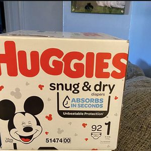 Huggies Size 1 for Sale in Redwood City, CA