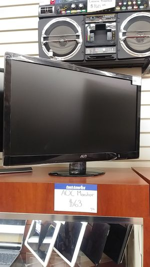AOC computer monitor for Sale in Chicago, IL