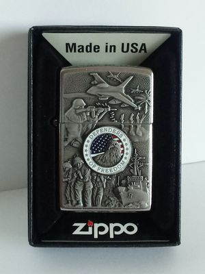 Defenders of Freedom Zippo Lighter for Sale in Stockton, CA
