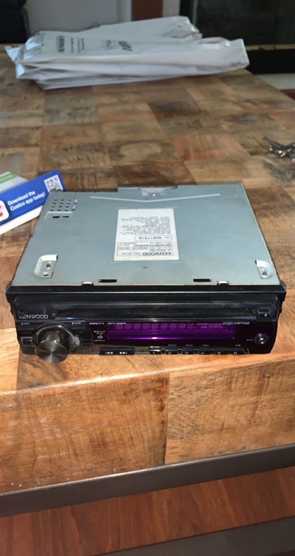 KENWOOD Stereo CD receiver