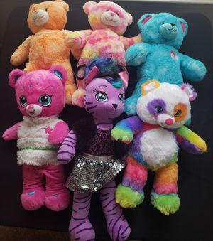 Build A Bear Plus Shopkins, Rainbow, Cupcake & more Lot for Sale in Landover, MD
