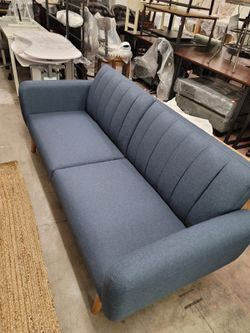 Couch/futon (navy blue) for Sale in Las Vegas,  NV