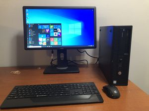 HP EliteDesk 800 G2 Desktop 🖥 Quad Core i5 3.20GHz 256GB SSD 8GB Ram for Sale in Lawrenceville, GA
