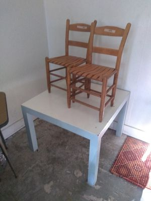 Kids table and chairs 30 for Sale in Benson, NC