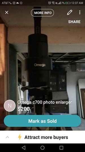 omega photo enlarger for Sale