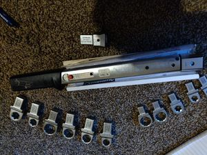 Stahlwillie torque wrench and attachments like new for Sale in Osteen, FL