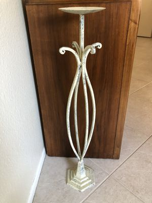 """33"""" Iron Candle Holder (Ahwatukee) for Sale in Phoenix, AZ"""