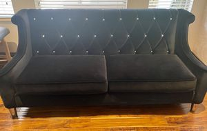 """Luxurious Black with Diamonds Living Room Couch Set from """"El Dourado Furniture """" for Sale in Fort Lauderdale, FL"""