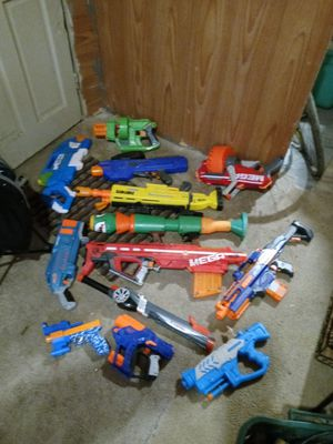 Nerf guns water guns for Sale in Columbus, OH