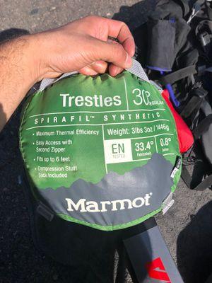 Marmot sleeping bag for Sale in San Diego, CA