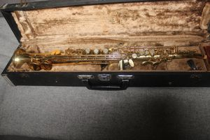 Yamaha YSS-62R (Purple Label, Curved Neck) Soprano Saxophone for Sale in San Gabriel, CA