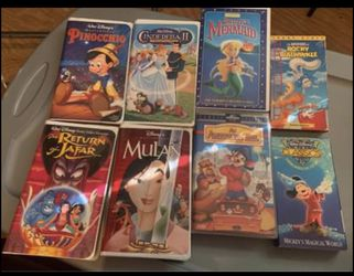 Classic Disney vhs movies for Sale in Ohatchee,  AL