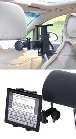 New in box tablet seat rest holder adjustable ipad tablet holder rotates 360 degrees for Sale in South El Monte,  CA