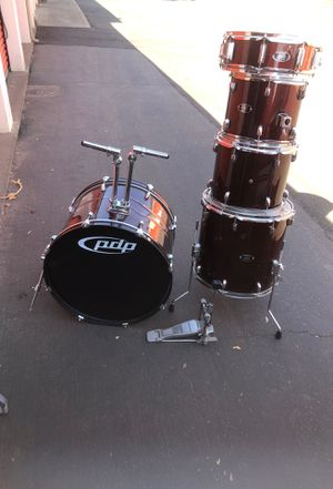 5 piece pdp drum set for Sale in Modesto, CA