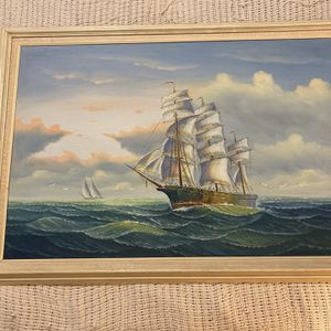 Painting Of Ship for Sale in Lake Worth, FL