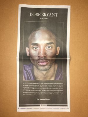 Kobe Bryant lot of newspapers for Rey for Sale in Los Angeles, CA