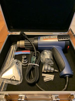 Steinel Electric Heat Gun HL 2010E. In Silver Case for Sale in Stuart, FL