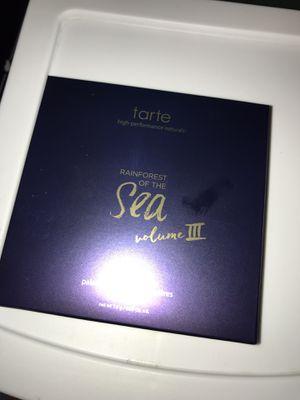Tarte rainforest of the sea volume 3 palette for Sale in Medford, OR