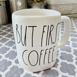 Rae Dunn ~ BUT FIRST, COFFEE Mug ~ UFT / UFS • LL • EXTRA LARGE for Sale in Rancho Cucamonga, CA
