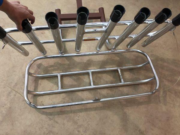 8 rod aluminum fishing rod holder $300OBO