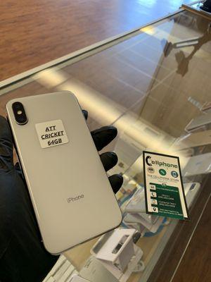 IPhone X ATT & CRICKET for Sale in West Sacramento, CA
