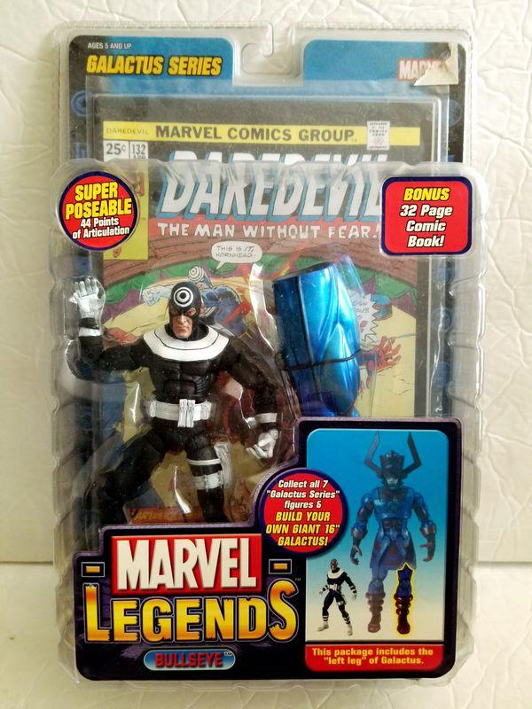 BULLSEYE Marvel Legends Galactus BAF Series Toy Biz action figure NEW