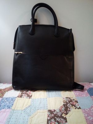 Black leather backpack purse for Sale in Nashville, TN