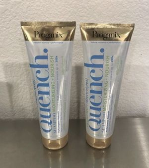 Brand new Proganix H2o Plus Electrolytes Quench Shampoo, Coconut, 8.5 Ounce ($5 each) for Sale in Las Vegas, NV