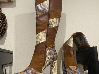 Snakeskin & Brown Boots for Sale in Las Vegas,  NV