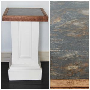 Solid Marble Top Pedestal Column for Sale in Seattle, WA