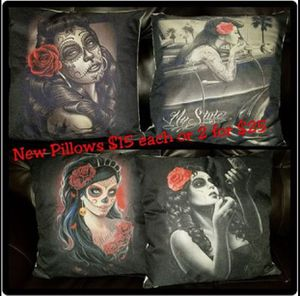 Day of the Dead Pillows for Sale in Fresno, CA