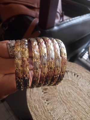 GOLD PLATED BRACELETS for Sale in Las Vegas, NV