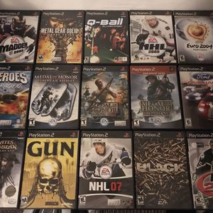 PS2 XBOX GAMECUBE GAMES LOT for Sale in Los Angeles, CA