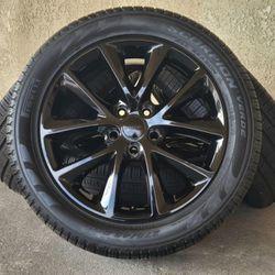 "20"" Dodge Durango Wheels Rims Rines And Tires Llantas for Sale in Huntington Beach,  CA"