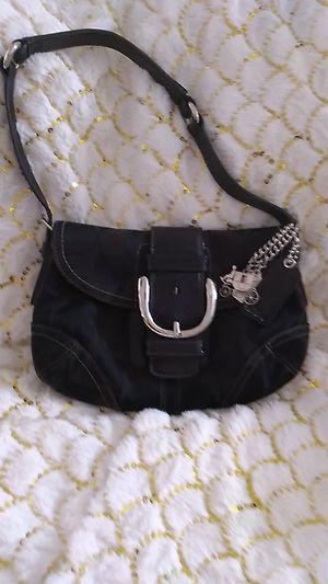 Black soho coach shoulder bag for Sale in Mesa, AZ