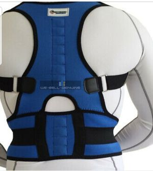 Neoprene Back Brace Provides Comfort Posture Pain Relief for Sale in Bowie, MD