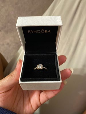 rose gold pandora ring for Sale in Columbus, OH