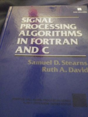 Signal Processing Algorithms and Fortran And C for Sale in Ringgold, GA